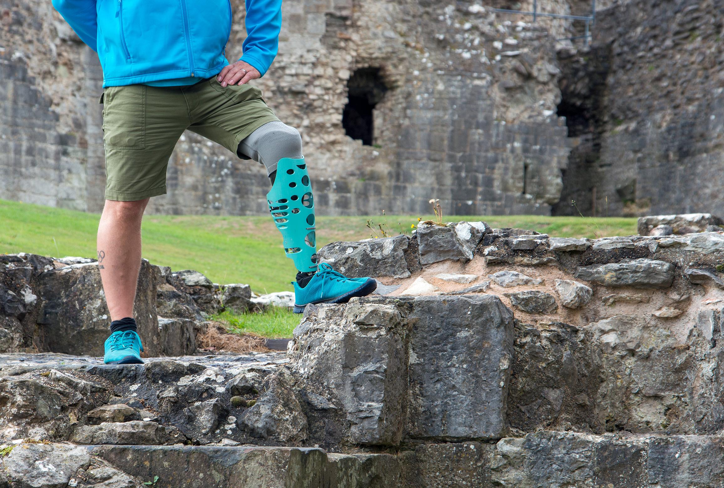 Photoshoot at Denbigh Castle