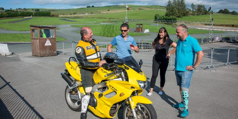 Photoshoot at Glan y Gors Circuit