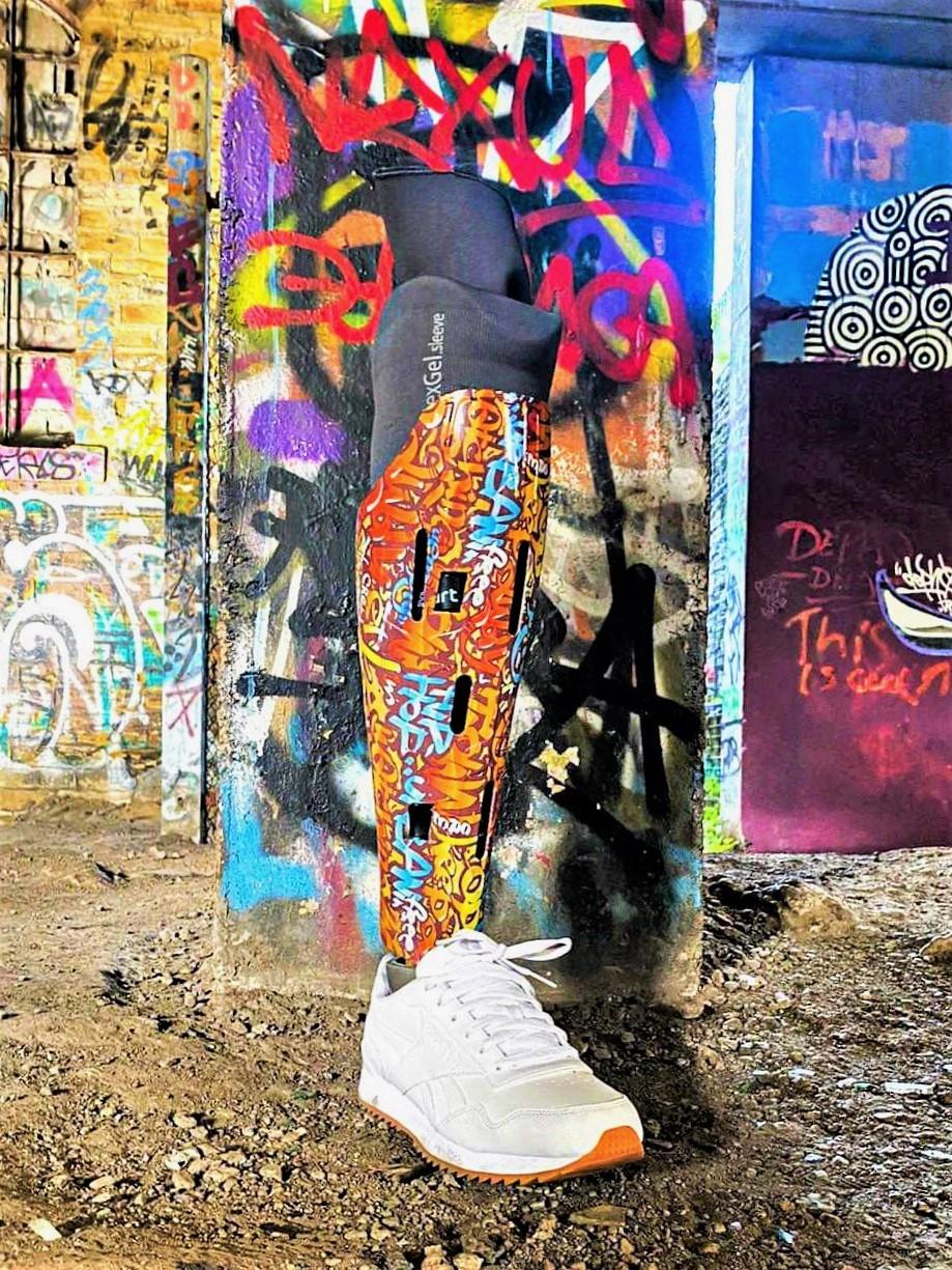 Graffiti Vent Custom Vinyl Wrap